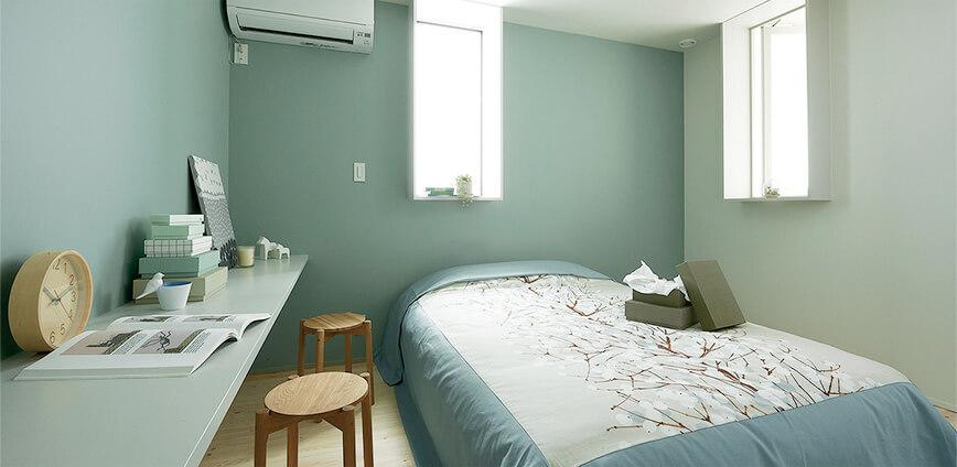 TRETTIOの寝室